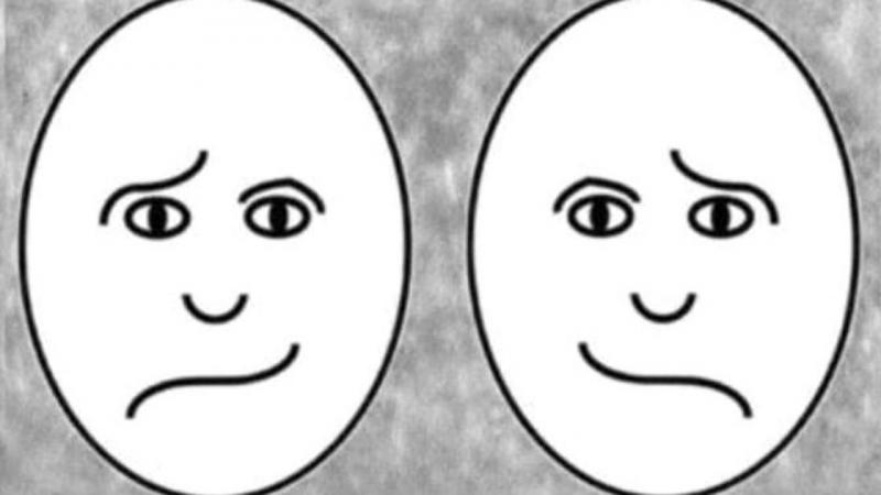 Cilën anë të trurit e keni më aktive  Zgjidhni se cila prej këtyre dy fytyrave duket më e lumtur